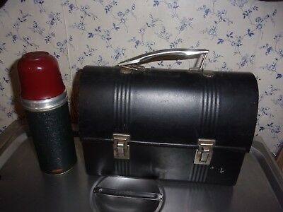 American Thermos Bottle Company Antique Thermos # 30-1/2 And lunch box