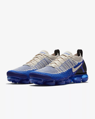 NIKE AIR VaporMax Flyknit 2.0 2018  MEN Blue Running Trainers Shoes