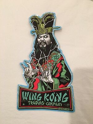 Tyler Stout Sticker Lo Pan Big Trouble In Little China Wing Kong Trading Co