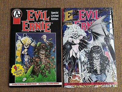 Evil Ernie #1 #5, Special Limited Edition Lady Death 1992