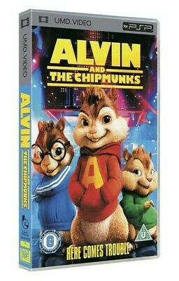 PSP - UMD Video - Alvin and the Chipmunks ENGLISCH mit OVP