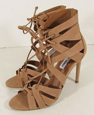 4fd447cd5a2e  129 Steve Madden Womens Bae Lace-Up Stiletto Sandal Shoes