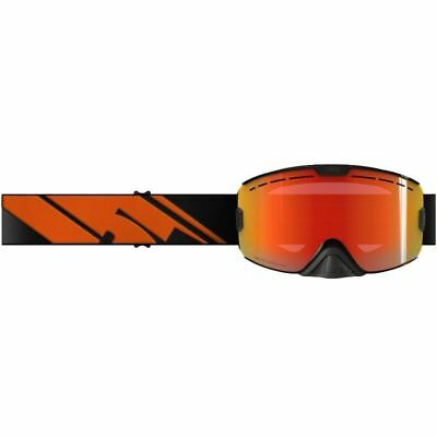 509 KINGPIN Goggles -BLACK FIRE -PHOTOCHROMATIC Orange to Blue Mirror Lens - NEW