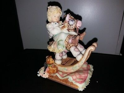Enesco Laura's Attic Limited Edition Figurine Number 1618 where shall we go