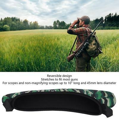 Scope Cover Sight Guards Rifle Neoprene Reversible Design Hunting Protector AD