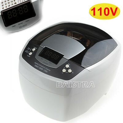Digital Ultrasonic Cleaner Machine CD-4810 for Dental Jewelry Cleaning Timer