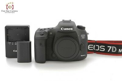 Excellent+++!! Canon EOS 7D Mark II 20.2 MP Digital SLR Camera from Japan