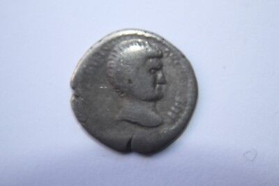 ANCIENT CELTIC HADRIAN SILVER DENARIUS COIN 1/2nd CENTURY AD CAESAR