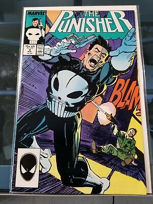 The Punisher #4 1st appearance of Microchip