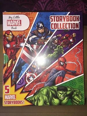My Little Marvel 5 Books Collection - Brand New