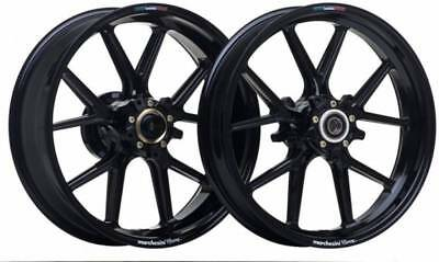 MARCHESINI wheels (Set) Forged MAGNESIUM (BLACK) - HONDA CBR 1000RR 2004-08(-10)