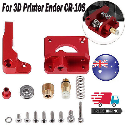 Upgrade Aluminum MK8 Extruder Drive Feed For Creality 3D Printer Ender CR-10S AU