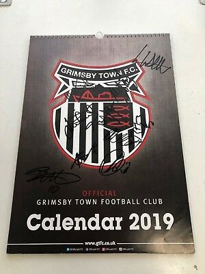 Grimsby Town 2019 Hand-Signed Calendar