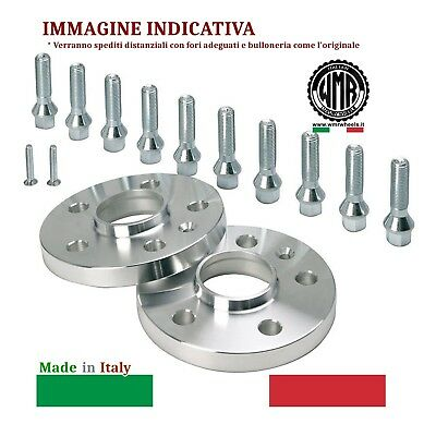Me16B556 Wmr Spacers * Distanziali Da 16 Mm 5/112/66,6 + M14X1,50 Sferico R12...
