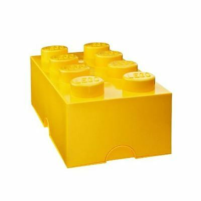 Lego Storage Yellow Lunch Box Kids School Trips Lunch Box Free P+P
