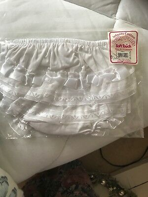 baby girls frilly knickers