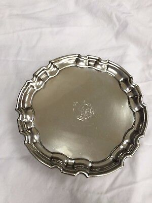 George II Silver Salver Made by JOHN TUITE  London 1732
