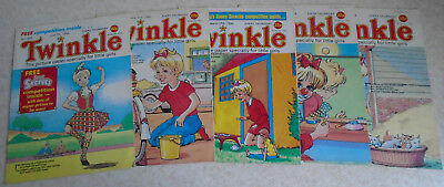 Twinkle Comics 1986 x 5, numbers on listing