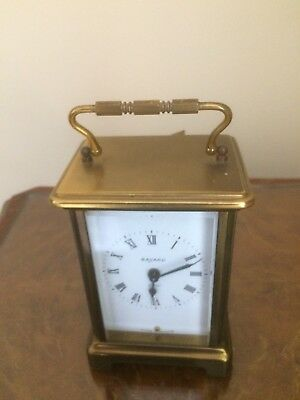old french carriage clock marked BAYARD