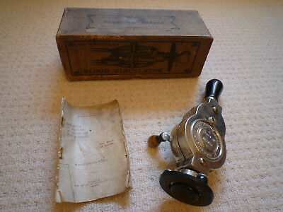 Vintage Dr Macaura's Blood Circulator Patent No 13932 Boxed with Instructions