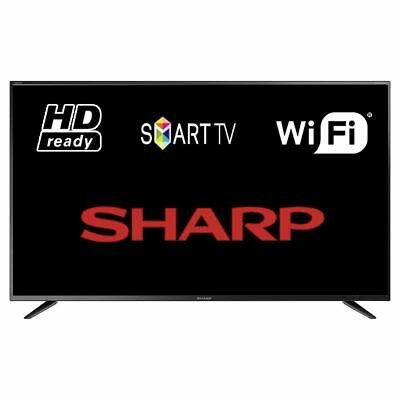 """Sharp LC-32CHG6021K 32"""" Smart LED TV WiFi HD Ready 720p With Freeview HD"""