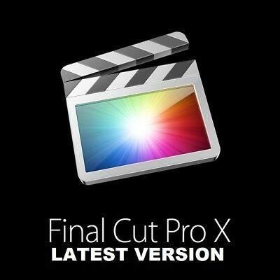 Final Cut Pro X Latest Version 10.4.4   -Instant DELIVERY - High Sierra Mojave