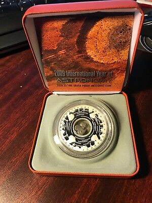 Australia 2009 International Year of Astronomy Meteorite Silver Proof Coin