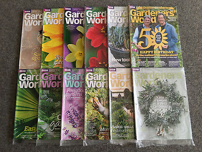 BBC Gardeners' World Magazine: Special Subscriber Edition - All 12 Issues - 2017