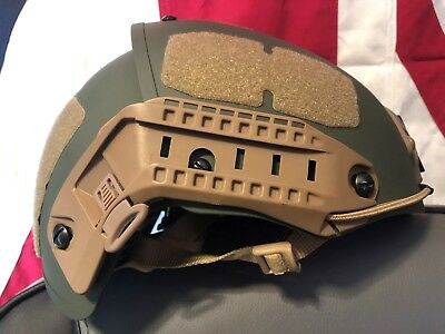 crye precision AirFrame style AIRSOFT Helmet opscore maritime green