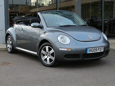 2009 09 Volkswagen Beetle 1.6 Luna Convertible [Ac] - Alloys - Only 74447 Miles!