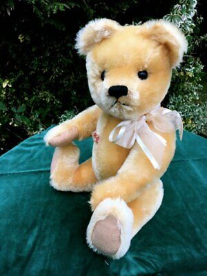 Antique / Vintage 20 inch 1960 Farnell Mohair Teddy Bear