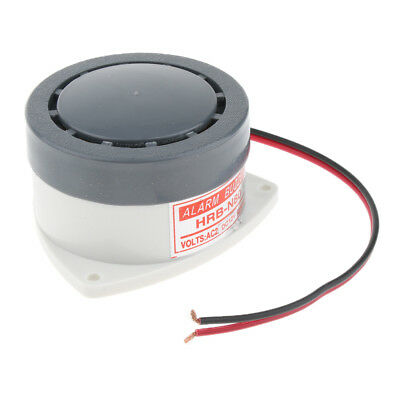 12V 95dB Loud Security Sound Alarm Buzzer Siren for Mechanical Equipment