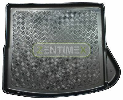Corrugated Boot Mat Trunk Liner for Mercedes CLA-Class Shooting Brake AMG Line X