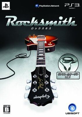 PS3 Rocksmith (Real Tone Cable Bundle) Japan Import SONY Game Playstation 3