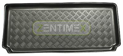 Corrugated Boot Mat Trunk Liner for Smart ForTwo 42 type 450 coupe hatchback 3-d