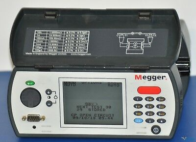 Megger DLRO10X Digital Low Resistance Ohmmeter - NIST Calibrated with Data