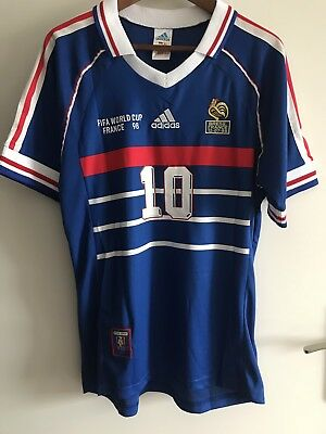 Maillot Zidane 1998 Taille L
