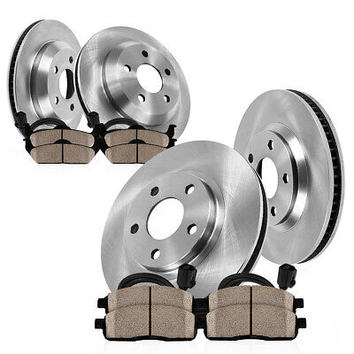 For 11-2010 BMW X3 PowerSport Front Rear Low Dust Ceramic Brake Pads