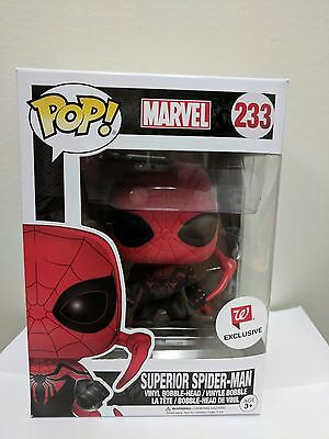 Funko POP! Marvel SUPERIOR SPIDER-MAN #233 Walgreens Exclusive vinyl figure NIB