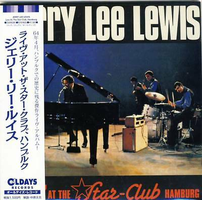 Jerry Lee Lewis ‎– Live At The Star-Club Hamburg (CD Papersleeve Japan-Import)