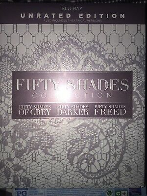 Fifty Shades: 3-Movie Collection New Blu-Ray Disc