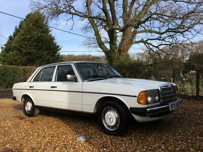 1979 T Reg Mercedes Benz 230 W123 Saloon. Manual LHD. Second owner deceased