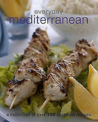 Mediterranean Recipe Book Hb Full Colour 90+ Clear Easy To Follow Recipes