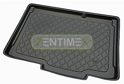 Rubberised Boot Mat Trunk Liner for Opel Corsa D Facelift hatchback 3-doors 2026