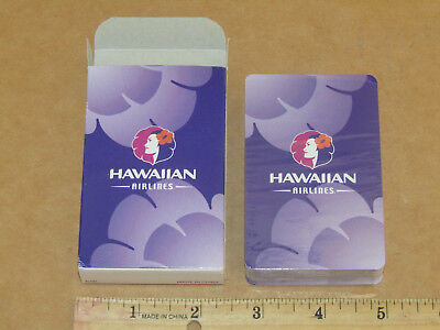 hawaiian airlines deck playing cards NIB NOS in shrink wrap