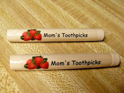 FUN & PRACTICAL Personalized GIFT! Custom Color Toothpick, Needle, Note Holders