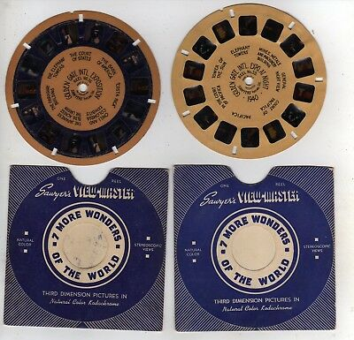 4 Golden Gate Exposition (Viewmaster Reels 56, 57, 58, 59) San Francisco CA