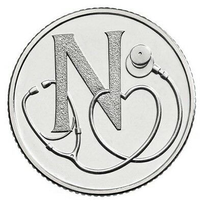 2018 Letter N 10p Coin - NHS - Great British Coin Hunt - Royal Mint