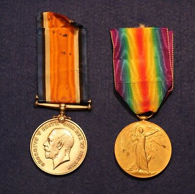 WW1 Victory and War Medals Awarded to 75767 PTE. 1. C. G. Rose R.A.F