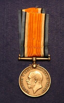 WW1 War Medal Awarded to 41817 PTE. A. E. Hopkinson CHES. R.